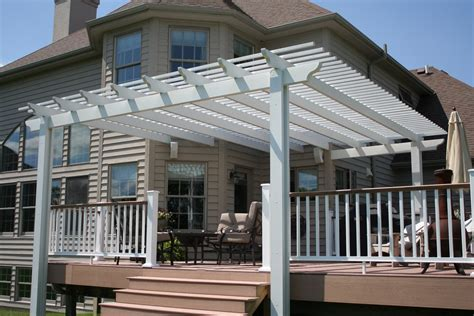 attached pergola kit americana building products