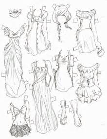 Cute Anime Girl Clothes Drawing