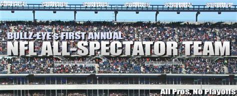 Bullz S Nfl All Spectator Team Nfl All Pro Best