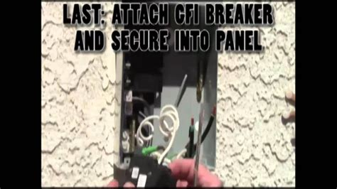 Spa Gfci 50 Receptacle Wiring by 43 How To Install A 3 Wire Tub Gfi