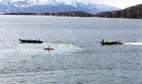 Express Boats Norway by Harstad Boat Crash British Tourists Rushed To Hospital
