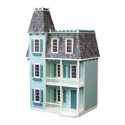alison jr dollhouse kit milled mdf real good toys