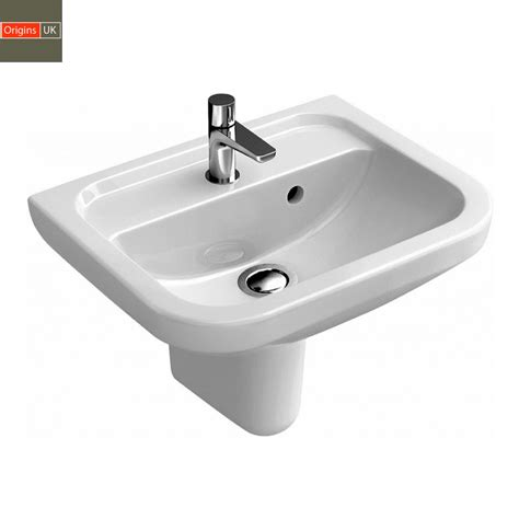 small pedestal sink origins curve compact bathroom basin uk bathrooms