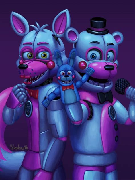 Fnaf Sister Location Funtimes By Paleodraw On Deviantart These Are The New