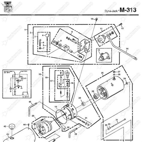 Monarch Wiring Diagram by Monarch Hydraulics M 313 Parts Diagram From Dynamics