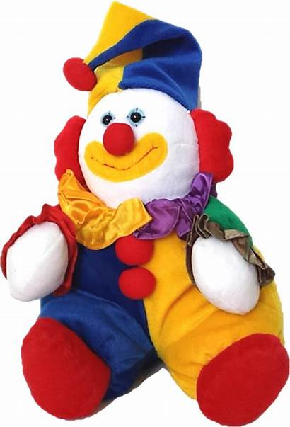 Clown Toy Clipart Funny Soft Toys Transparent