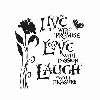 Laugh Template Workshop Stencils Crafters 6x6 Inch