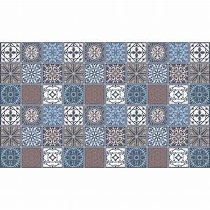 Art Et Carrelage : 60 stickers carrelages azulejos ornements artistique art ~ Melissatoandfro.com Idées de Décoration
