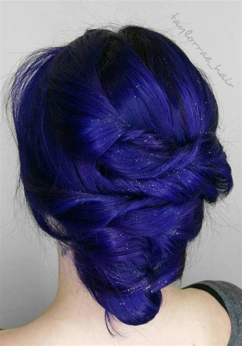 Blue And Hairstyles by 20 Blue Hairstyles That Will Brighten Up Your Look