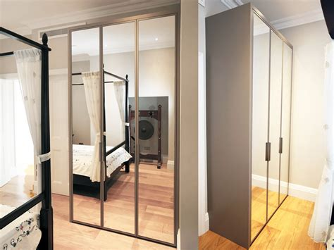 Mirrored Wardrobe by Contemporary Mirrored Fitted Wardrobe Bespoke Furniture
