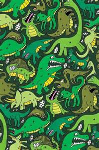 Cute iPhone Background Dinosaur