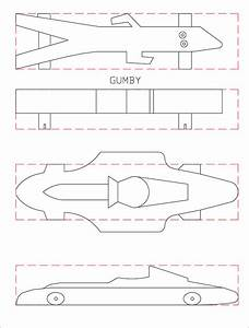 21 cool pinewood derby templates free sample example for Free pinewood derby car design templates