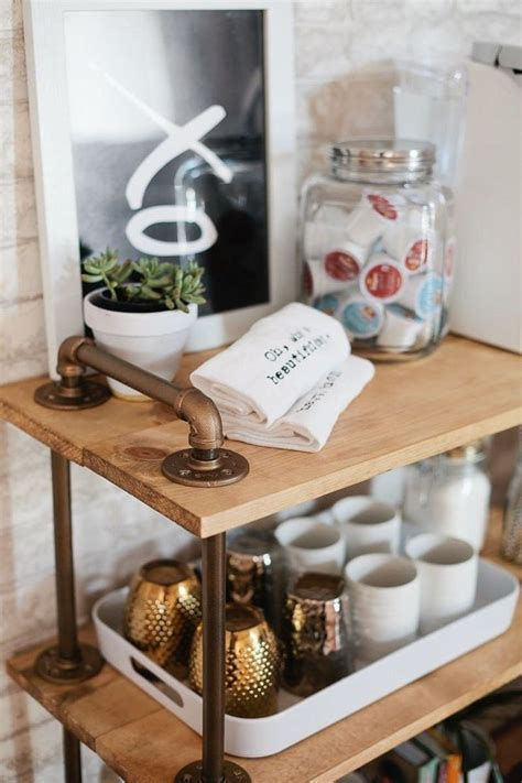 top  coffee station ideas   kitchen top inspired