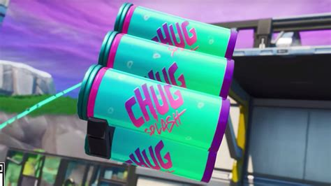 fortnite patch notes  chug splash vaulted weapons