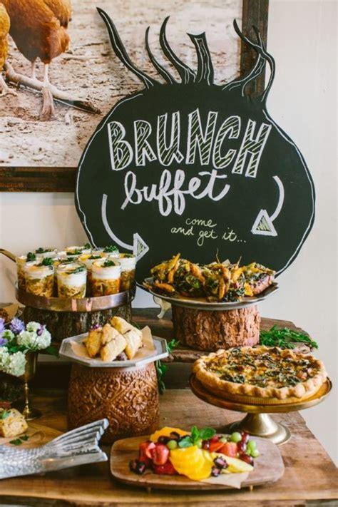 Brunch Buffet In The Salon  Heirloomla  Breakfast Buffet