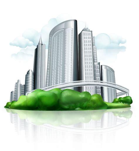 commercial building design  vector materialdownload