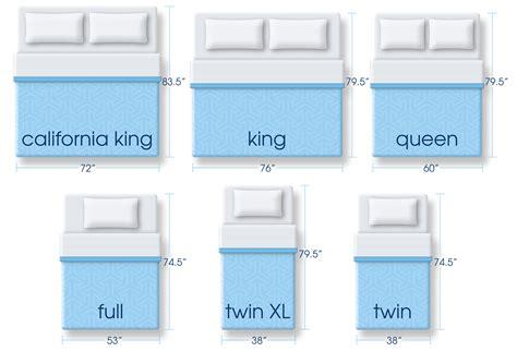 bed sizes u s mattress size dimensions chart by serta