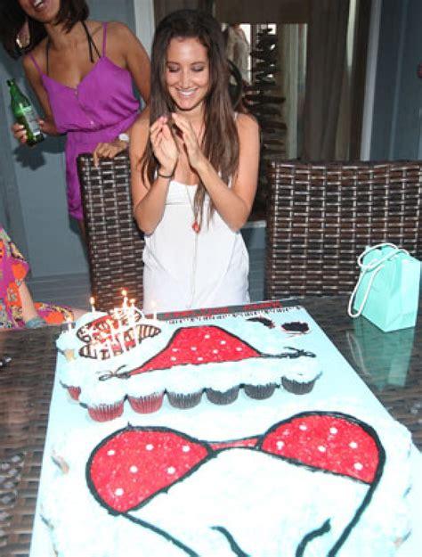 Celebrity Birthday Cakes  Ashley Tisdale's Birthday Cake