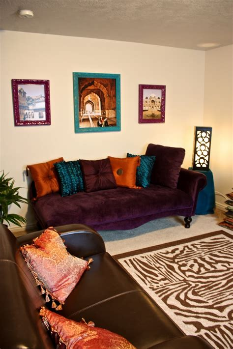Life of Tracy: India Inspired Living Room