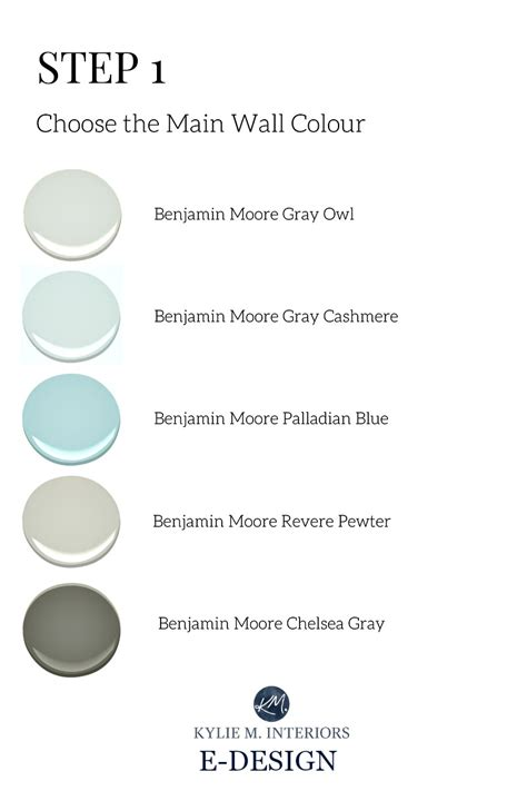 the best benjamin paint colours for gender neutral