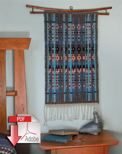 northern colors bound weave pattern  weaving