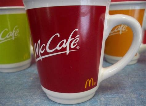 In a cone so you think you think you know. Mcdonalds Coffee Mug Shop Collectibles Online Daily