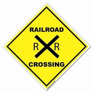 Railroad Crossing Sign - Cliparts.co