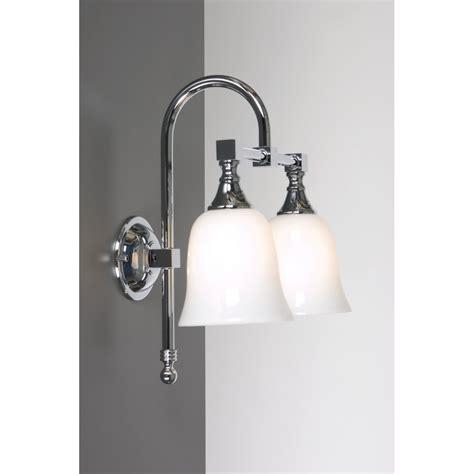 fashioned double bathroom wall light  lighting