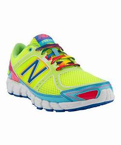 New Balance Neon Yellow 750 Running Shoe