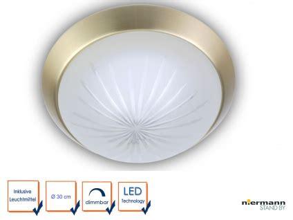 led leuchte rund led leuchte rund 216 30cm korridorleuchte schlafzimmerle dekorring messing matt kaufen bei