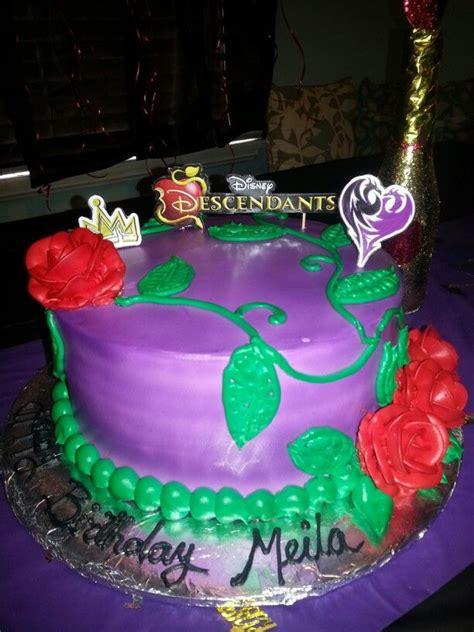 daughters descendants cake meilas birthday party