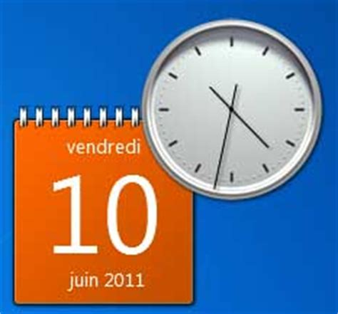 horloge bureau windows xp gadget horloge vista gratuit