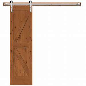 steves sons 24 in x 84 in rustic 2 panel stained With 24 inch sliding barn door