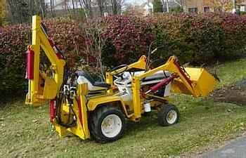 garden tractor front end loader kits used farm tractors for garden tractor loader hoe