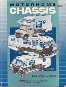 1992 Ford Motorhome Chassis Service Guide Original