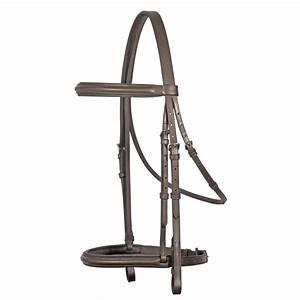 Raised Padded English Bridle - AA Horseplay