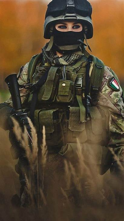 Army Iphone Military Phone Wallpapers Soldier Female