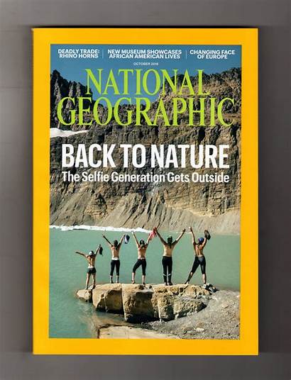 Geographic National Magazine October History Nature American