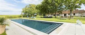 nos piscines exterieures mondial piscine With piscine avec liner gris clair 8 nos piscines exterieures mondial piscine