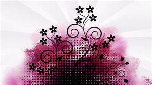 Pink and black wallpaper designs cool hd