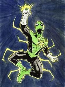 Green Lantern Spider-Man by mikejschwartz on DeviantArt