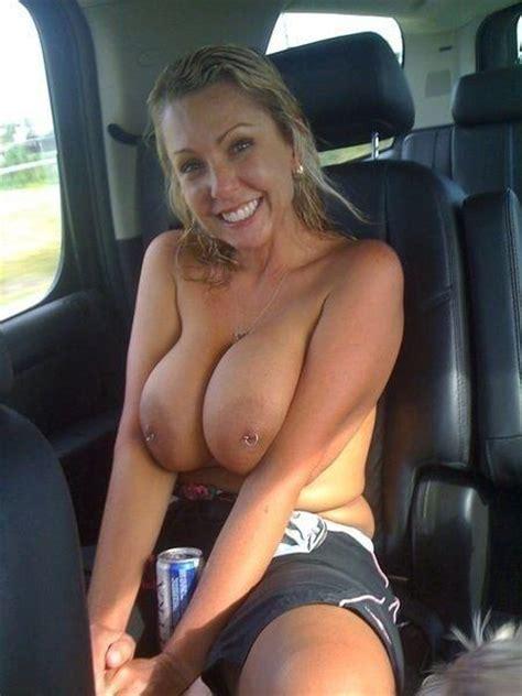 Big Tits Pierced Nipples Milf On A Backseat Milf Update