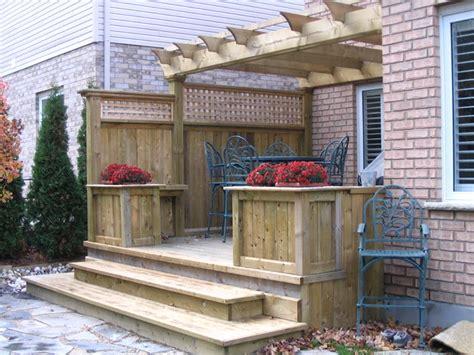 garden decks patio toronto  jws woodworking