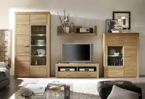 wohnwand dekorieren eiche teilmassiv w hlbar tv wohnkombination 4 teilig f r wohnzimmer