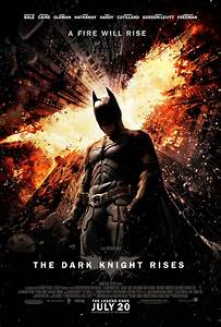 Parting Shot: New 'The Dark Knight Rises' Movie Poster