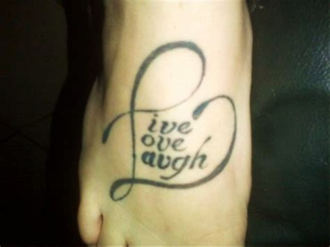 laugh love tattoos designs ideas  meaning