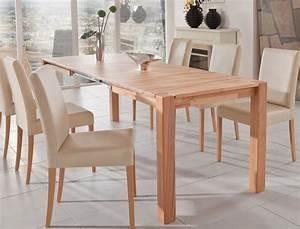 Esstisch 140x80 Ausziehbar : hochwertiger esstisch 140x80 ausziehbar massivholz tisch ~ Michelbontemps.com Haus und Dekorationen