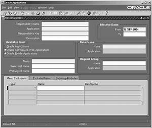 Example Of Application Form Oracle E Business Suite System Administrator 39 S Guide