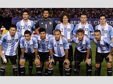 Argentina National Football Team Roster FIFA World Cup