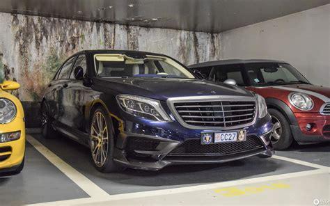 Brabus have tuned a mercedes e63 amg wagon into a 850 horsepower beast! Mercedes-Benz Brabus 850 6.0 Biturbo V222 - 17 July 2018 - Autogespot